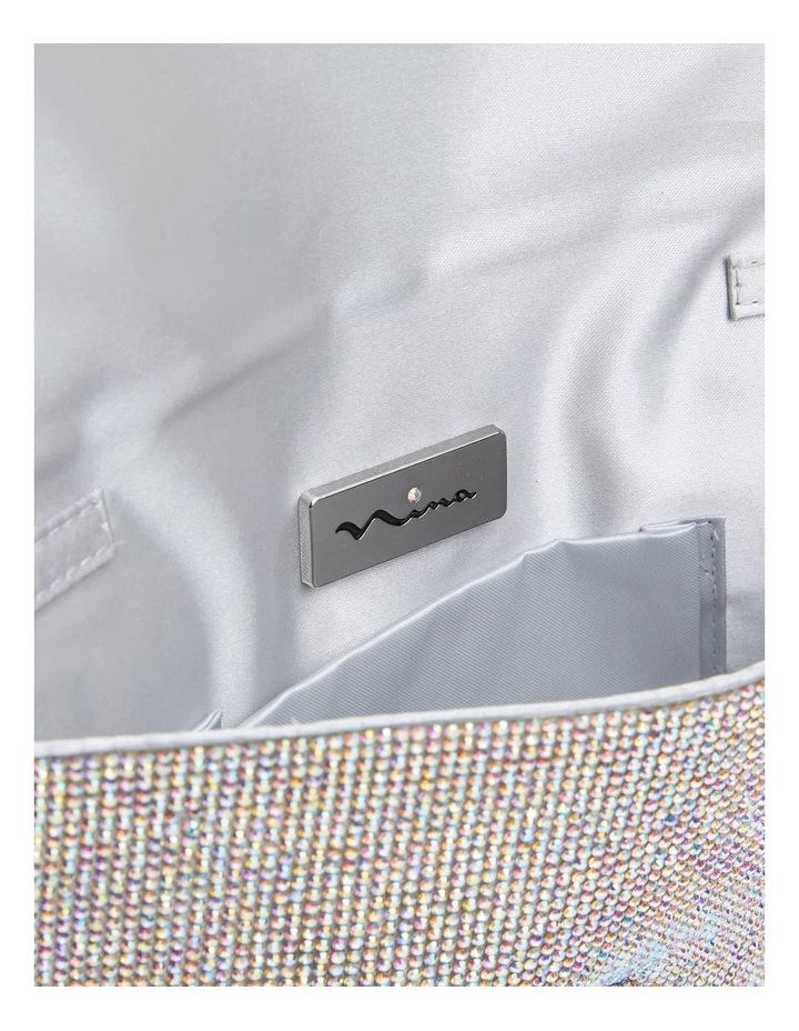 Kimora White Crystal Bag image 4