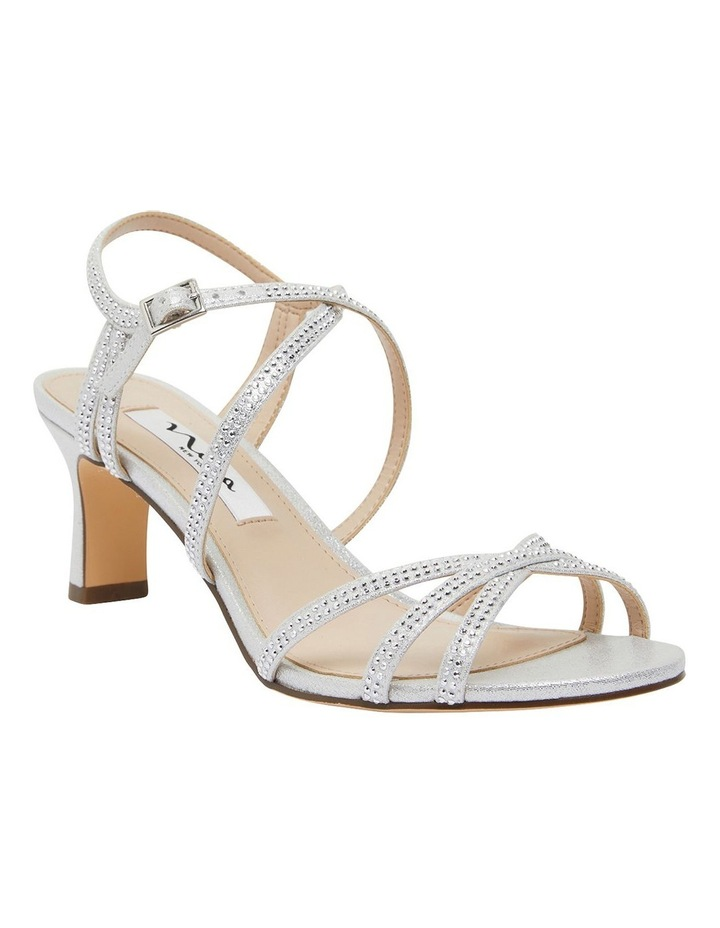 Netti Silver Ref Suede Sandals image 2