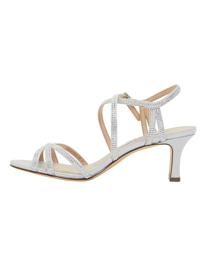 Netti Silver Ref Suede Sandals image 3