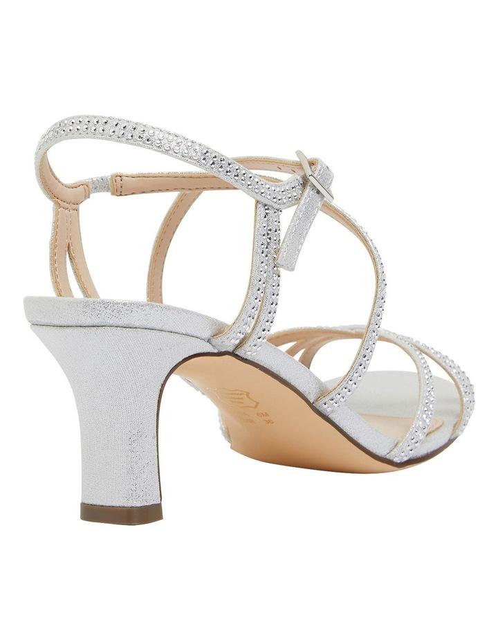 Netti Silver Ref Suede Sandals image 4