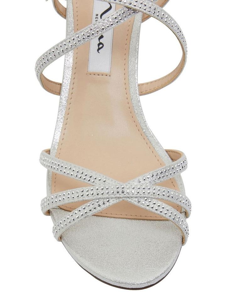 Netti Silver Ref Suede Sandals image 6