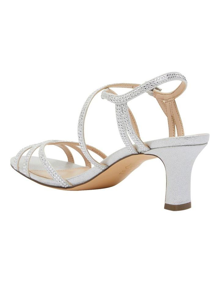 Netti Silver Ref Suede Sandals image 7