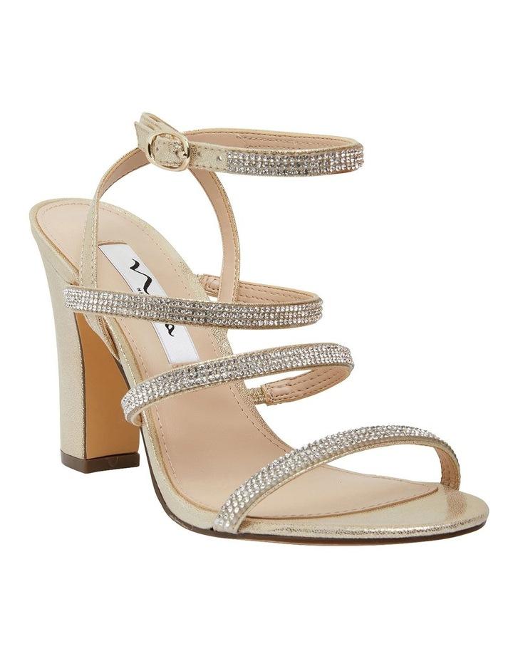 Sirena Gold Sandals image 2