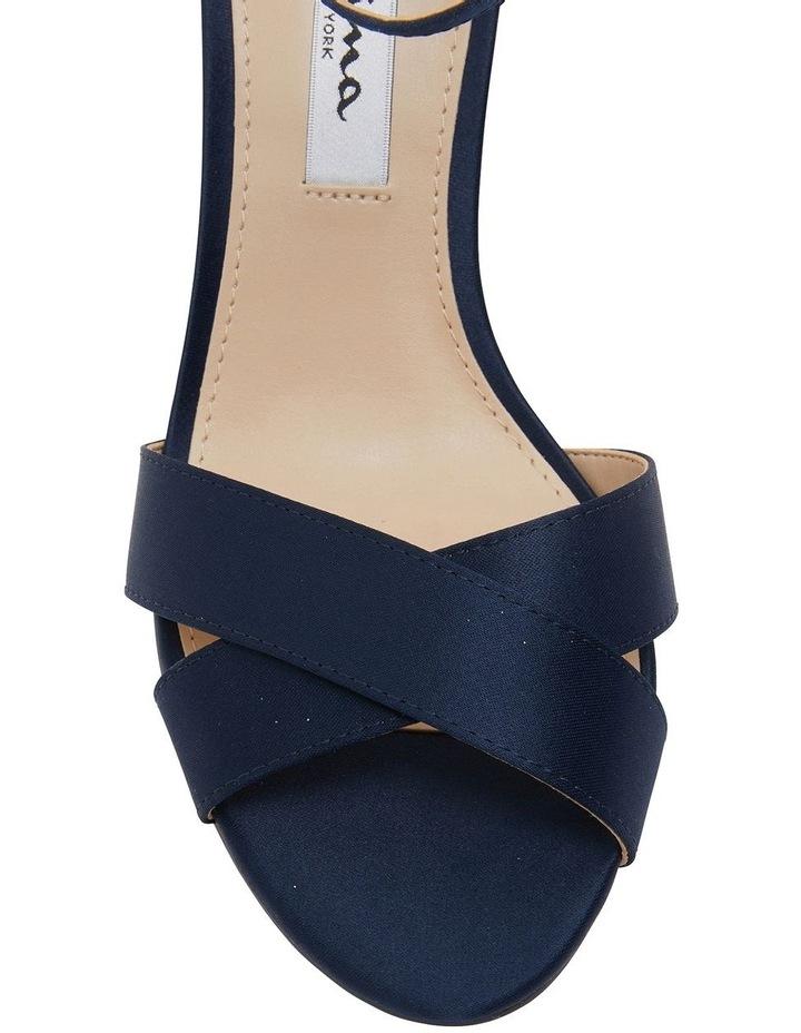 Venus New Navy Satin Sandals image 6