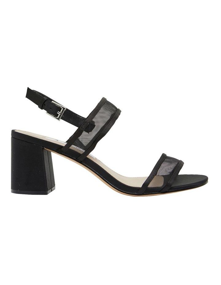 Nelley Black Luster Sandals image 1