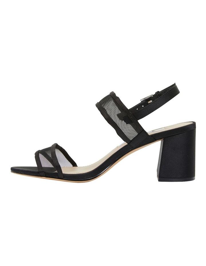 Nelley Black Luster Sandals image 2