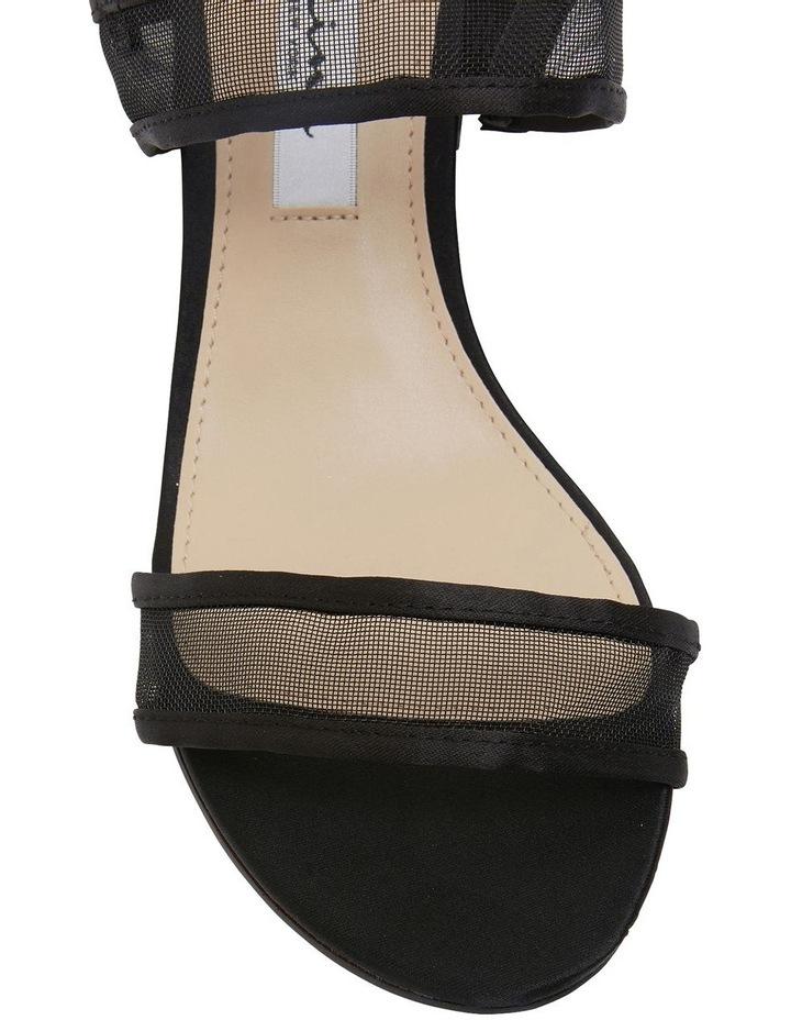 Nelley Black Luster Sandals image 4