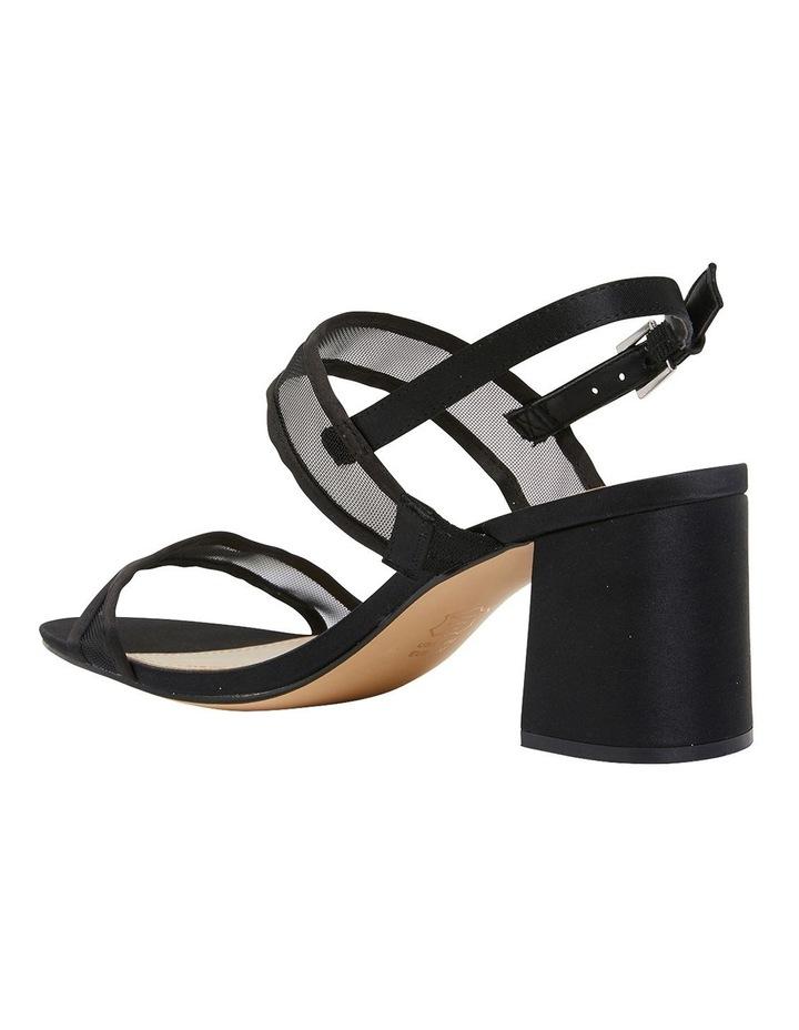 Nelley Black Luster Sandals image 5