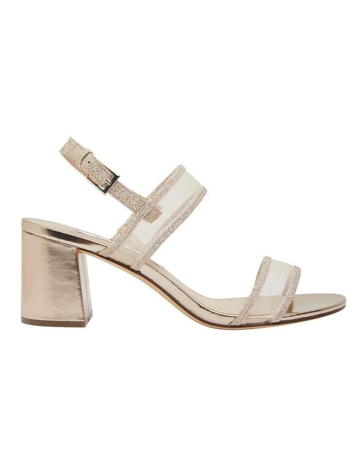 Nelley Gold Metallic Sandals image 1