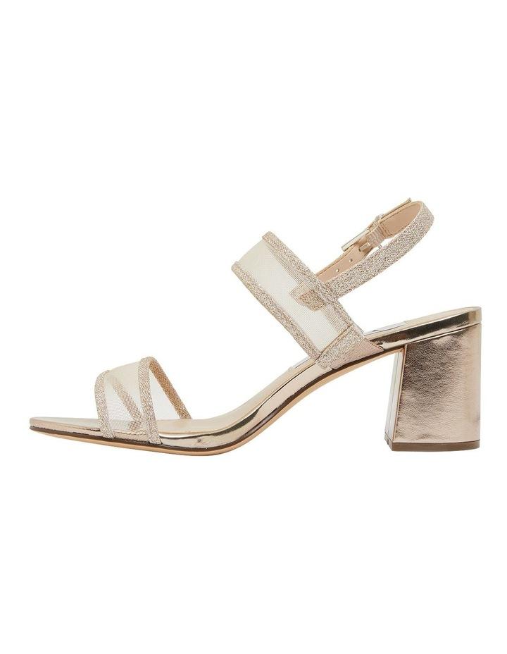 Nelley Gold Metallic Sandals image 2