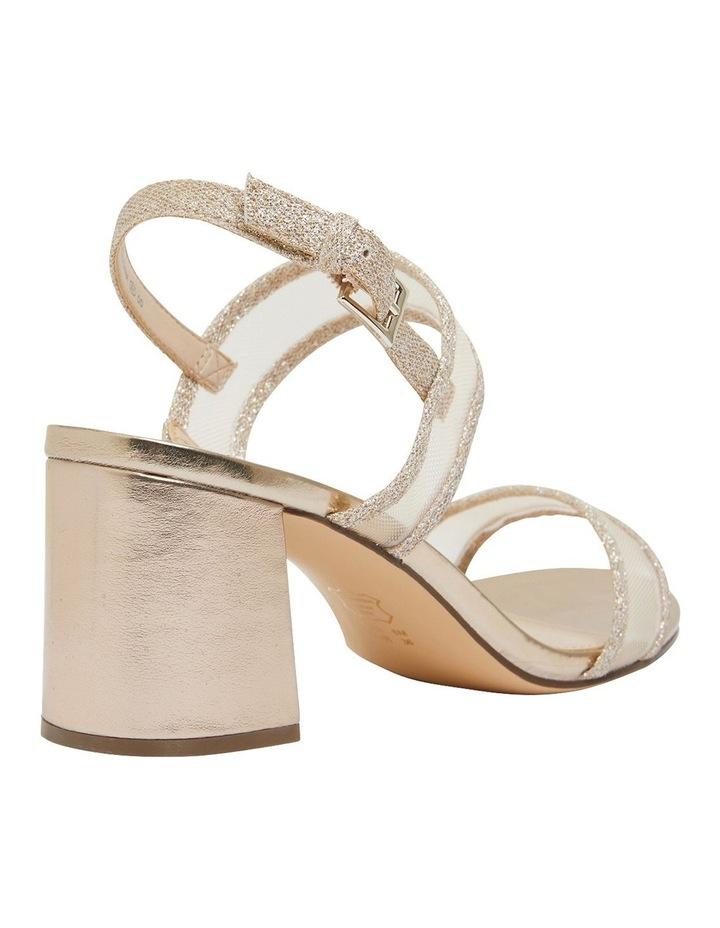 Nelley Gold Metallic Sandals image 3