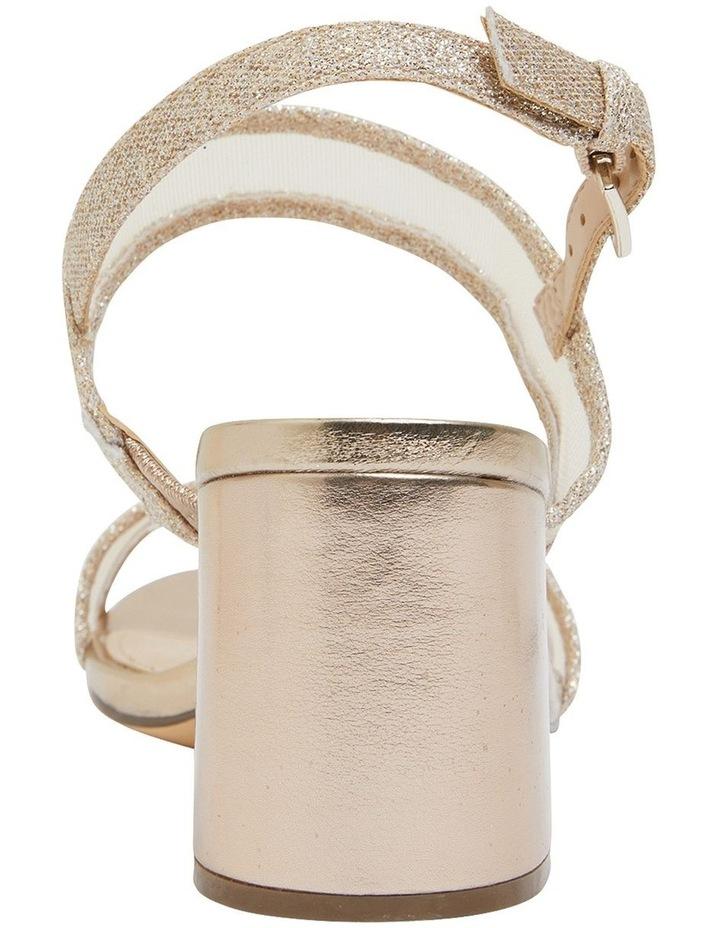Nelley Gold Metallic Sandals image 4