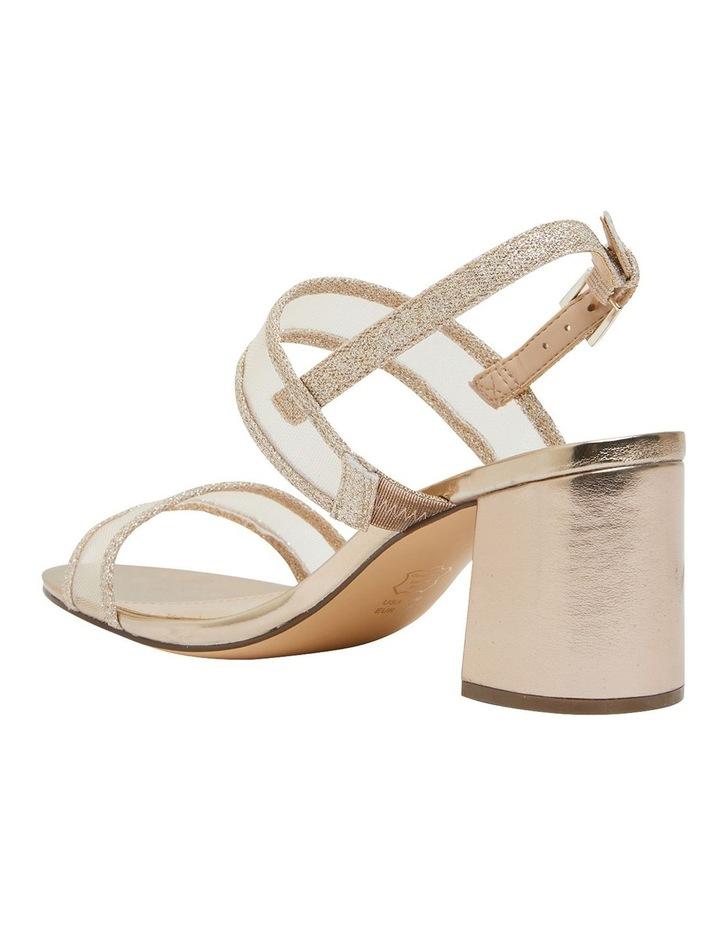 Nelley Gold Metallic Sandals image 5