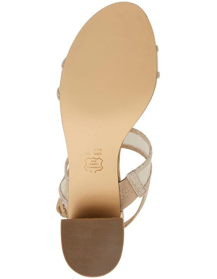 Nelley Gold Metallic Sandals image 6