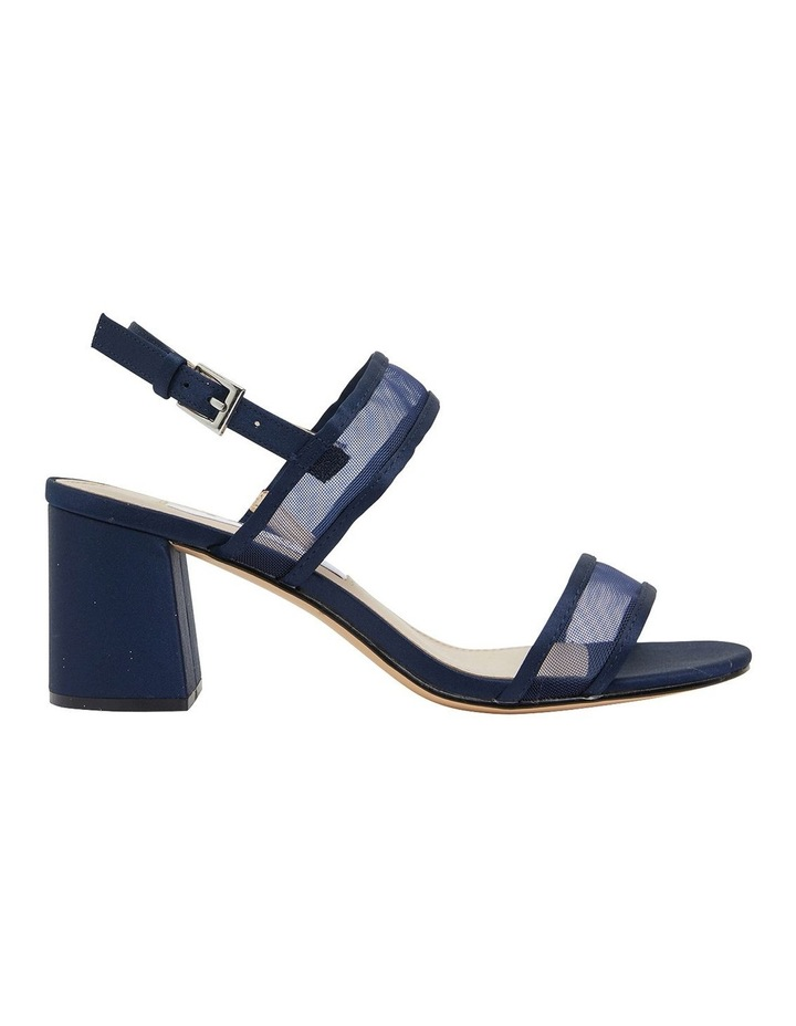 Nelley New Navy Satin Sandals image 1
