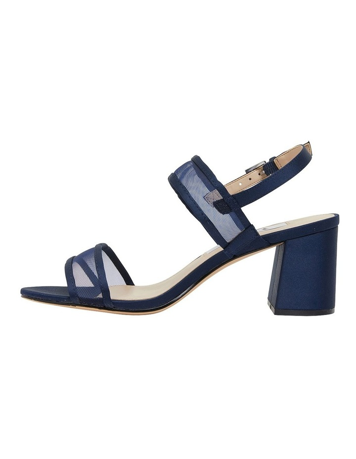 Nelley New Navy Satin Sandals image 2