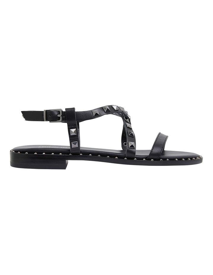 Berry Black Calf Sandals image 1