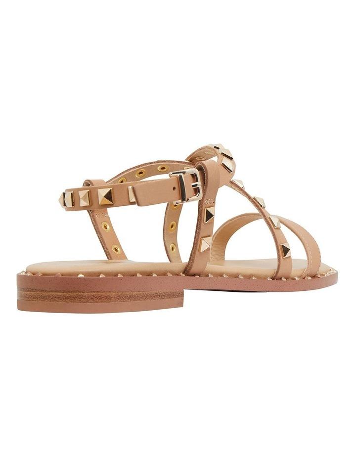 Berry Camel Calf Sandals image 4