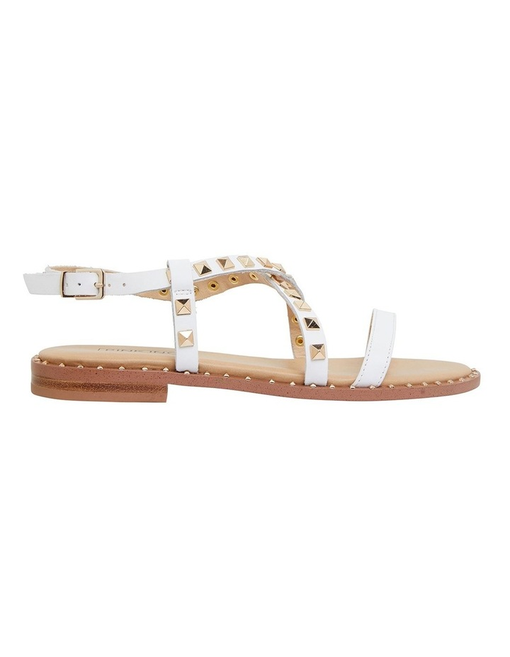 Berry White Calf Sandals image 1
