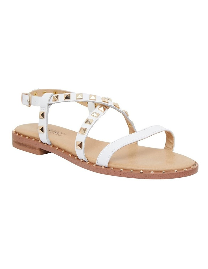 Berry White Calf Sandals image 2