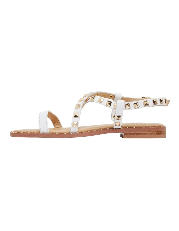Berry White Calf Sandals image 3
