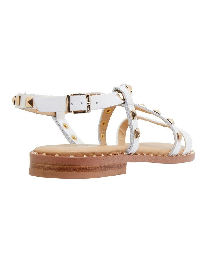 Berry White Calf Sandals image 4