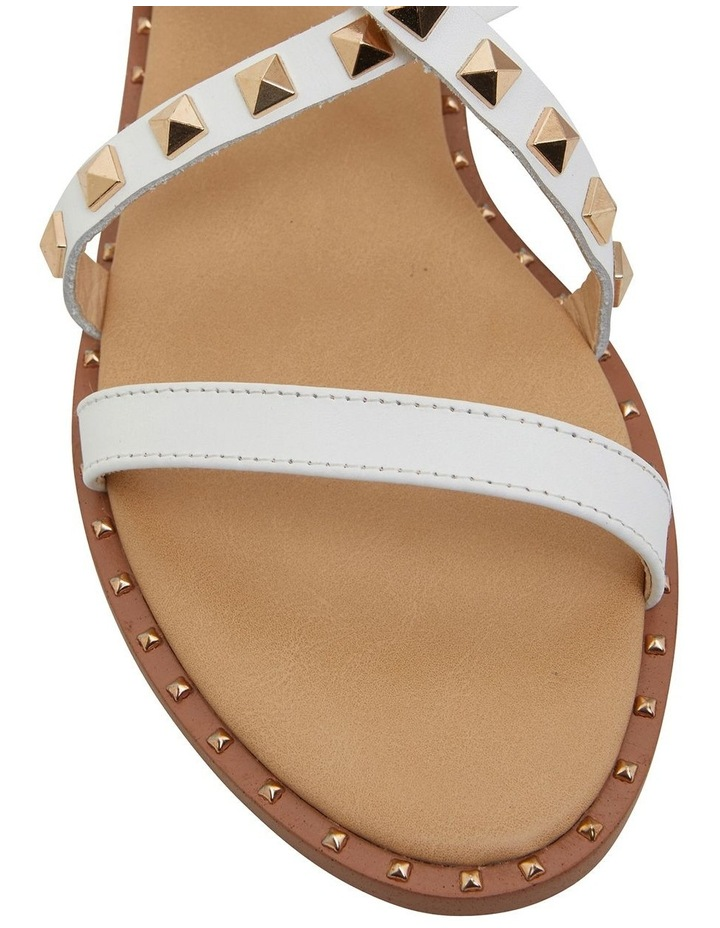Berry White Calf Sandals image 6
