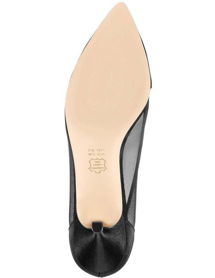 Bettey Black Heeled Shoes image 5