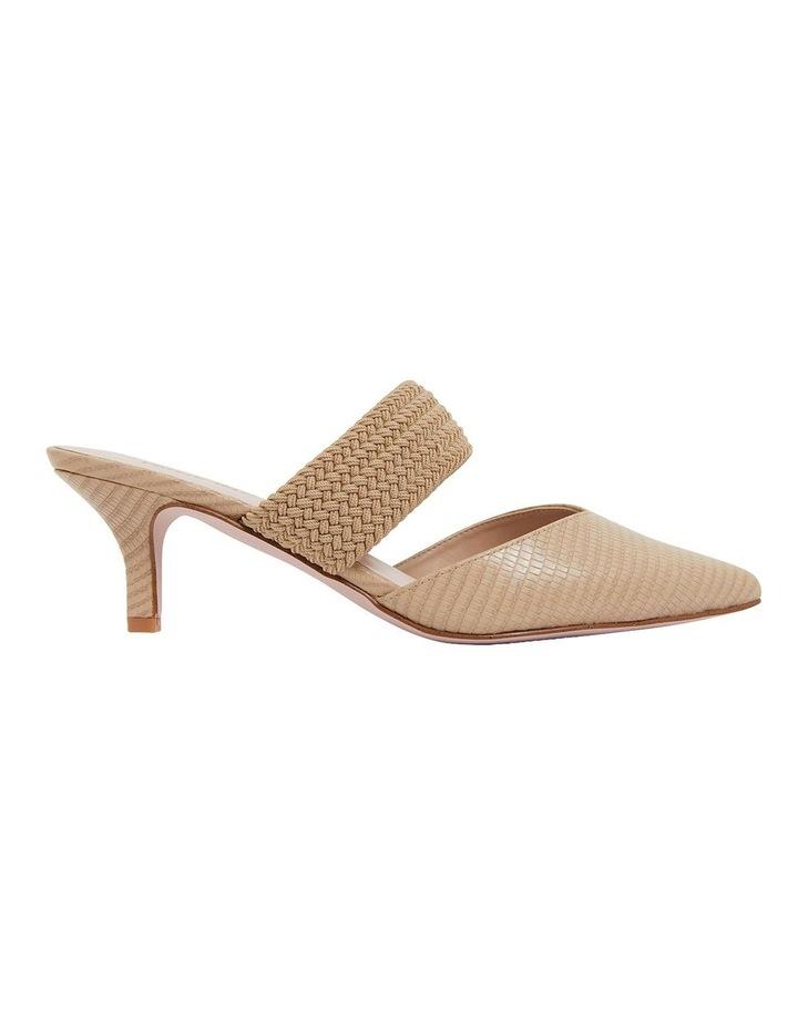 Vixen Nude Print Heeled Shoes image 1