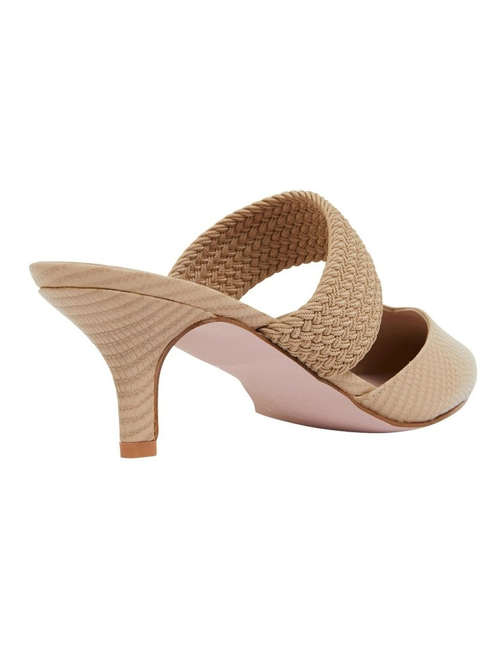 Vixen Nude Print Heeled Shoes image 4