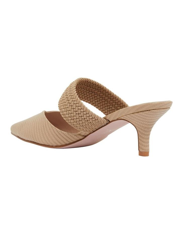 Vixen Nude Print Heeled Shoes image 6