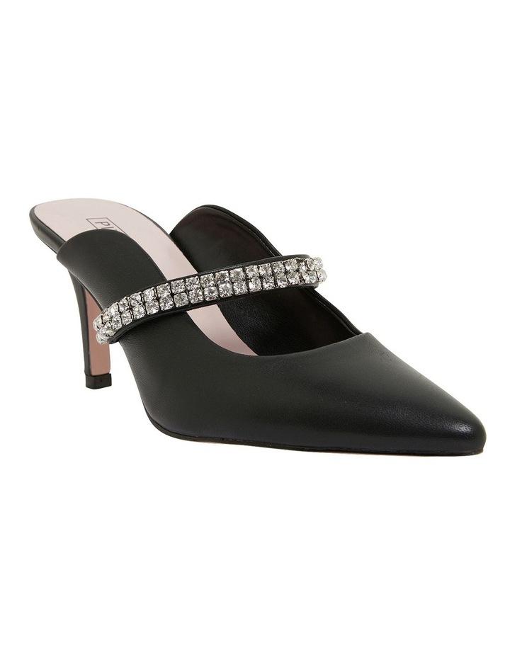 Vanity Black Glove Heeled Shoes image 2