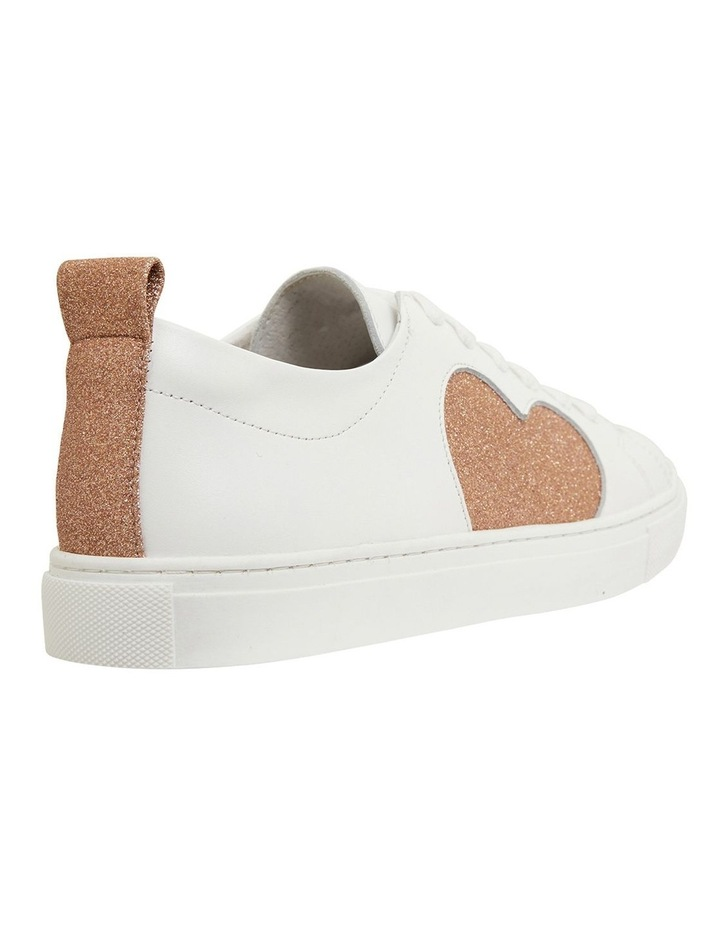 Love Rose / Gold Glitter Sneakers image 4