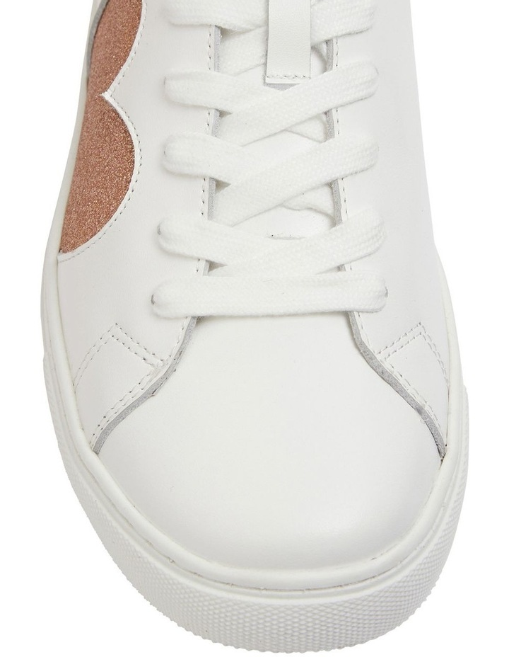 Love Rose / Gold Glitter Sneakers image 6