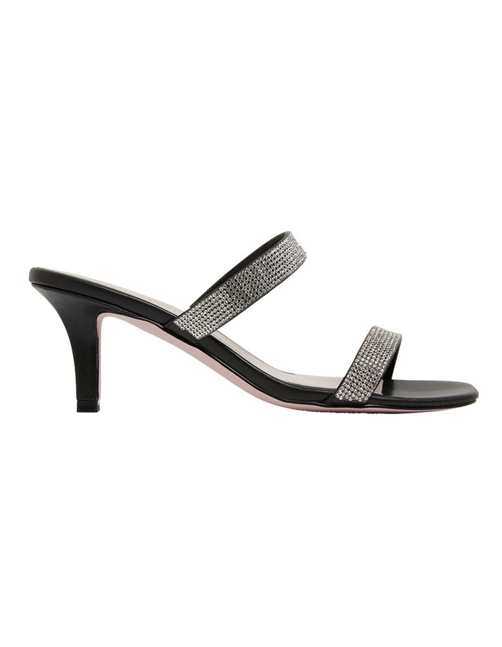 Imogen Black Glove Sandals image 1