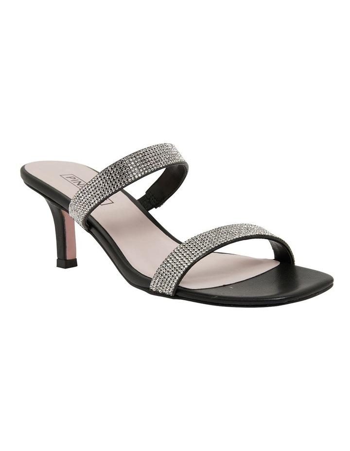 Imogen Black Glove Sandals image 2