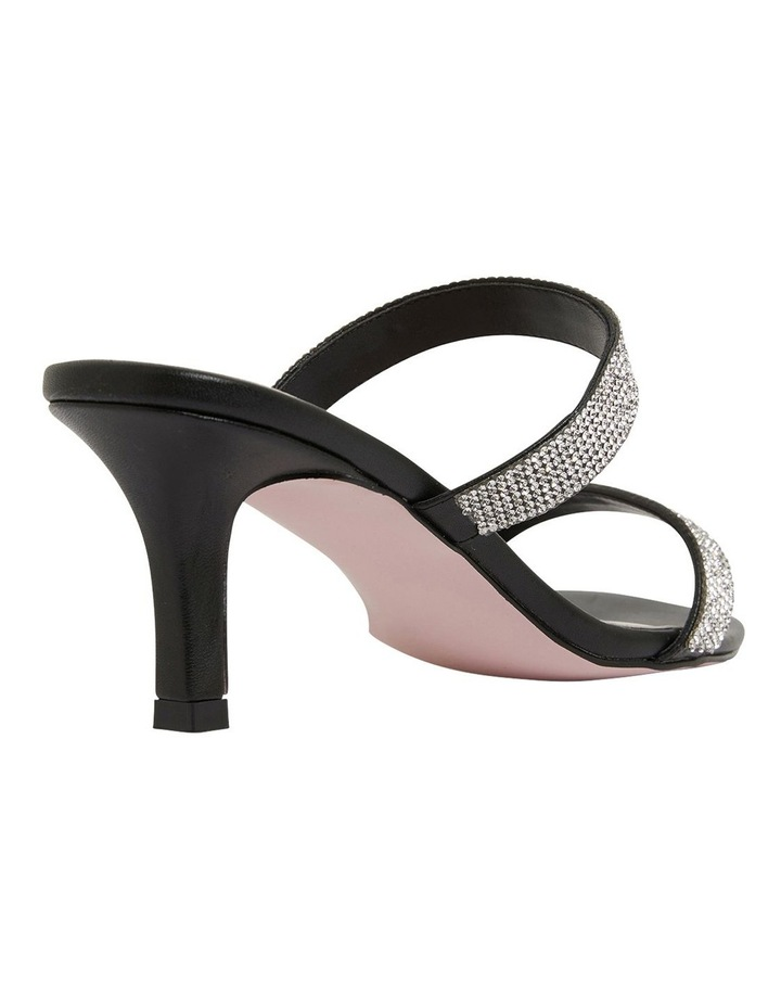 Imogen Black Glove Sandals image 4