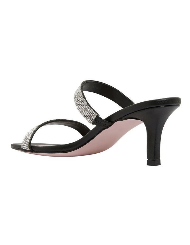 Imogen Black Glove Sandals image 6
