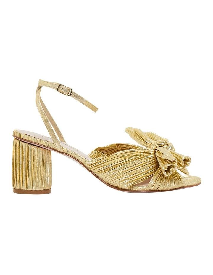 Secret Gold Metallic Sandals image 1