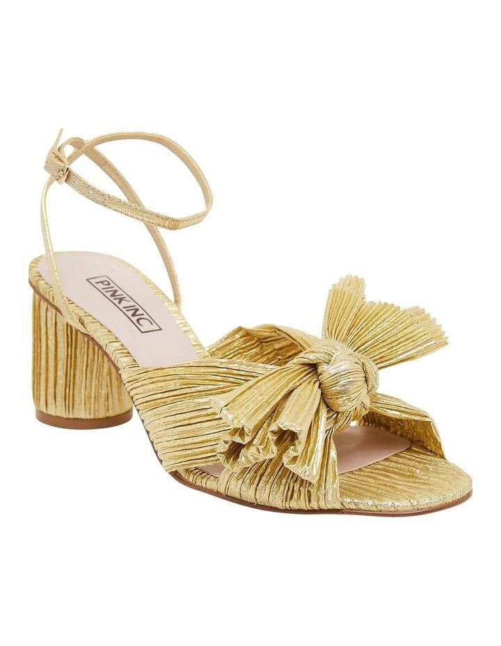 Secret Gold Metallic Sandals image 2