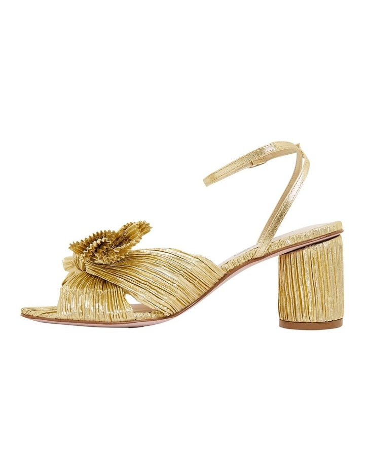 Secret Gold Metallic Sandals image 3