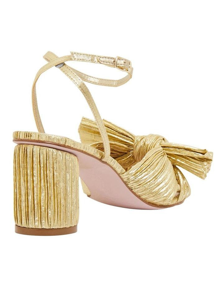 Secret Gold Metallic Sandals image 4