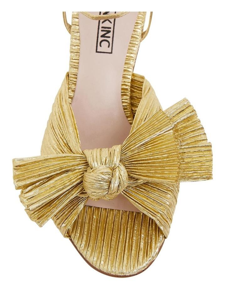 Secret Gold Metallic Sandals image 6