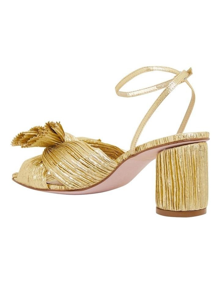 Secret Gold Metallic Sandals image 7
