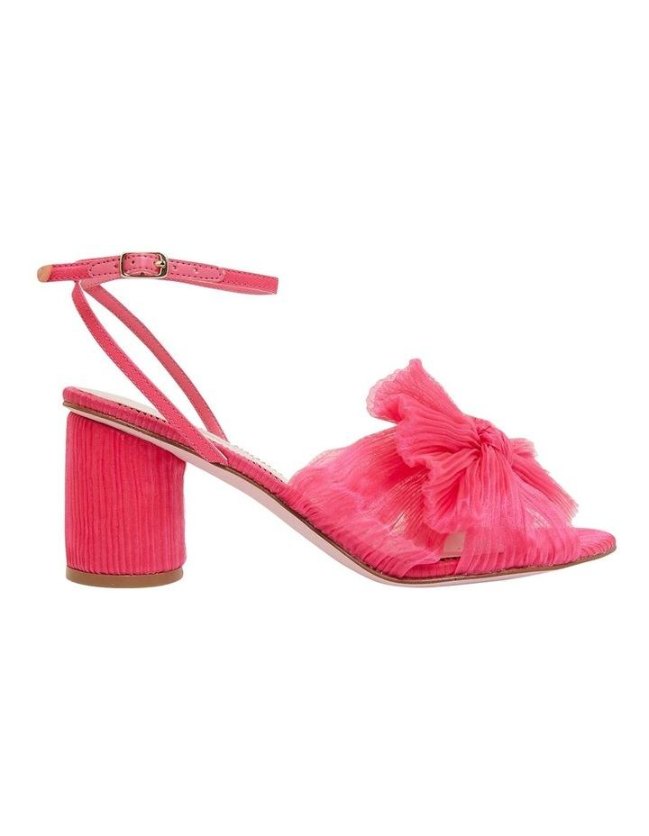 Secret Fuchsia Fabric Sandals image 1