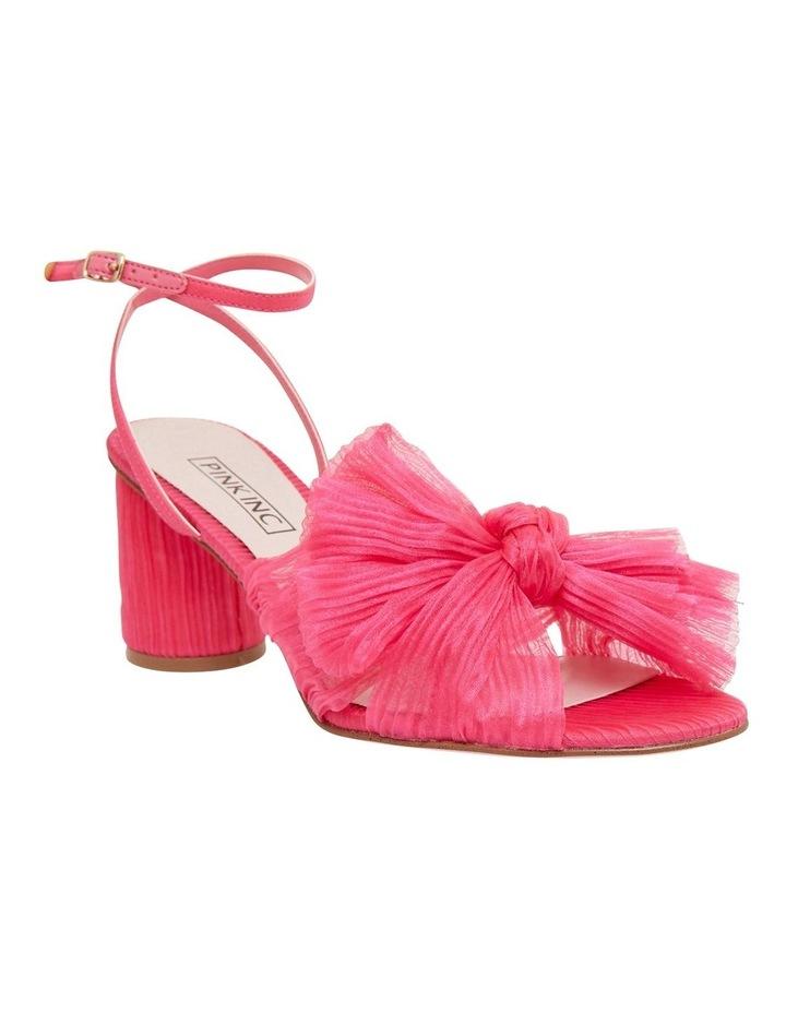 Secret Fuchsia Fabric Sandals image 2