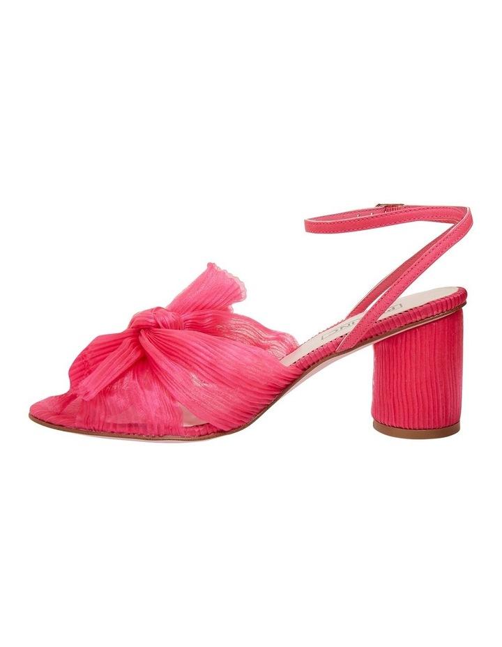 Secret Fuchsia Fabric Sandals image 3