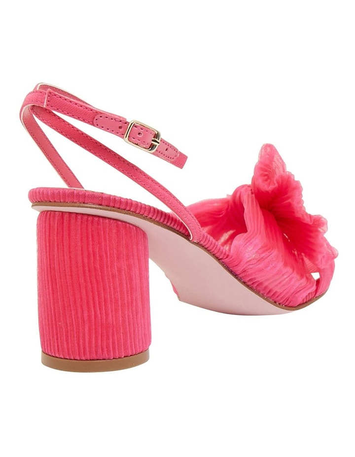 Secret Fuchsia Fabric Sandals image 4