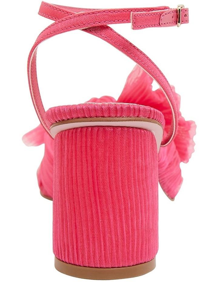 Secret Fuchsia Fabric Sandals image 5