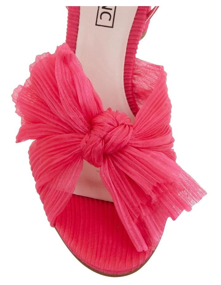 Secret Fuchsia Fabric Sandals image 6